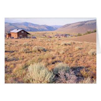 Carte Stanley, Idaho