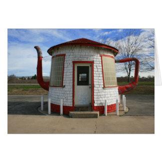 Carte Station service de Zillah Teapot Dome