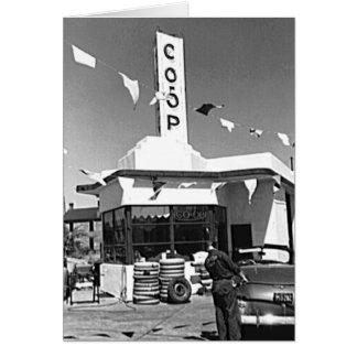 Carte Station service et voitures Minneapolis vintage