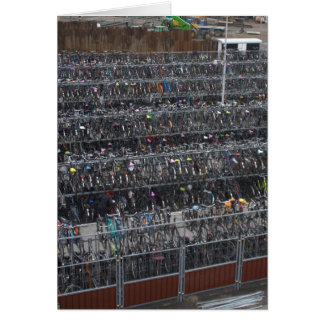 Carte Stationnement de bicyclette, Hollande