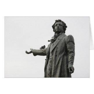 Carte Statue d'Alexandre Pushkin, St Petersbourg