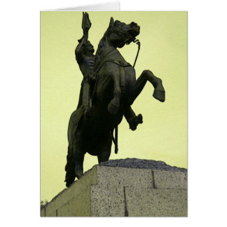 Carte Statue d'Andrew Jackson