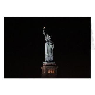 Carte Statue de la liberté