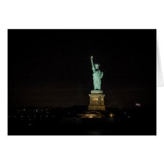 Carte Statue de la liberté avant l'aube