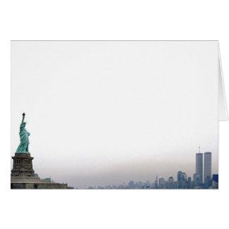 Carte Statue de la liberté - février 2000
