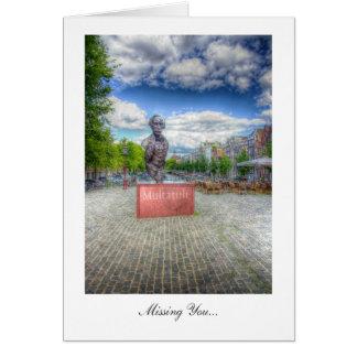 Carte Statue de Mulltatuli, Amsterdam - vous manquer