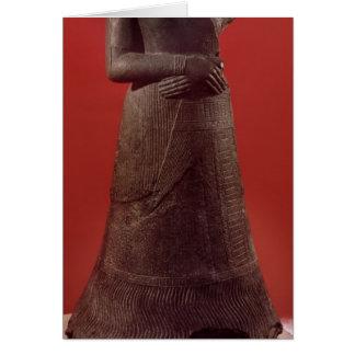 Carte Statue de Napirasu, épouse de roi d'Elamite
