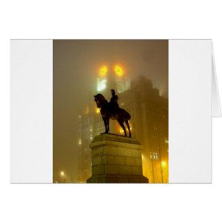 Carte Statue d'Edouard V11, tête de pilier, Liverpool