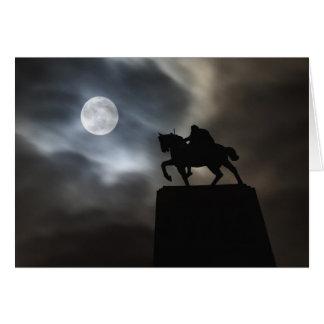 Carte Statue du Roi Kralja Tomislava silhouetté