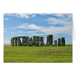 Carte Stonehenge, Angleterre
