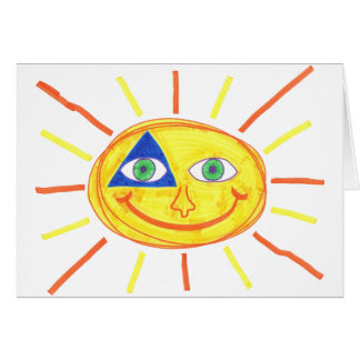 Carte Sun mignon