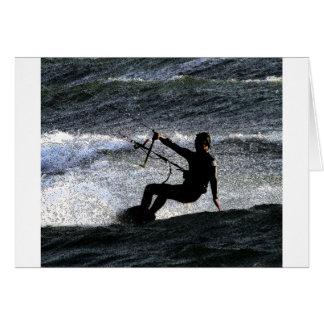Carte Surfer de cerf-volant