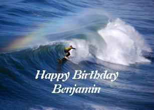 Cadeaux Joyeux Anniversaire Benjamin Zazzle Be