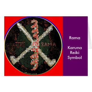 Carte Symbole de Karuna Reiki - RAMA