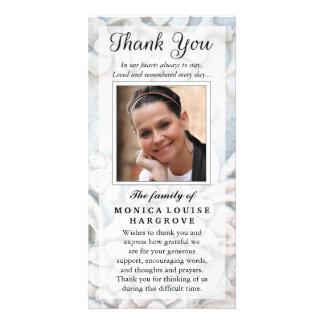 Carte Sympathie faite sur commande de photo de Merci -