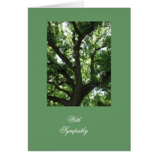 Carte Sympathie inspirée d'arbre