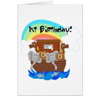 Carte T-shirts et cadeaux d'anniversaire de l'arche de