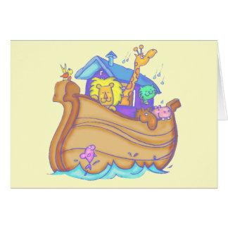 Carte T-shirts et cadeaux d'arche de Noahs d'enfants