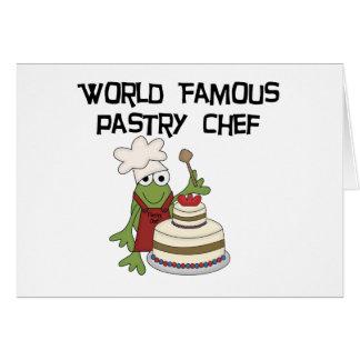 Carte T-shirts et cadeaux de chef de pâtisserie de