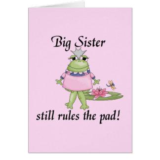 Carte T-shirts et cadeaux de grande soeur