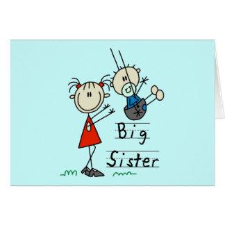 Carte T-shirts et cadeaux de petit frère de grande soeur