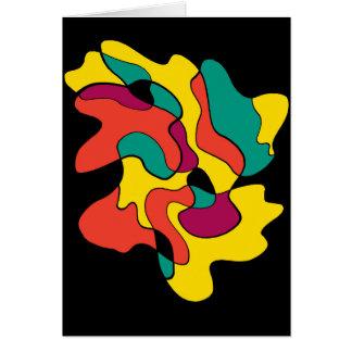 Carte Tache colorée