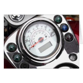 Carte Tachymètre de moto