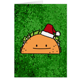 Carte Taco portant le Salsa de viande de coquille de