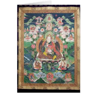 Carte Tanka de Padmasambhava, ANNONCE c.749
