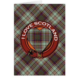 Carte Tartan d'écossais de plaid de clan d'Anderson