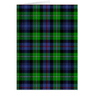 Carte Tartan du Mackenzie (aka tartan de montagnards de