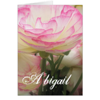 Carte Tasse de cadeau d'Abigaïl