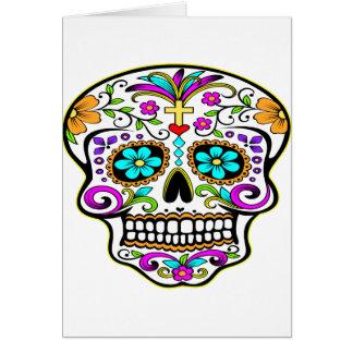 Carte Tatouage tatoué de crâne