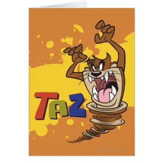 Carte TAZ™ sauvage
