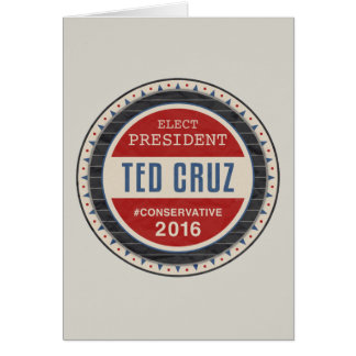 Carte Ted Cruz 2016
