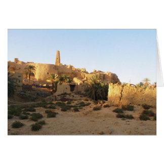 Carte Temple de Siwa d'Amun - Oracle de Siwa