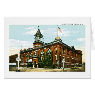 Carte Temple maçonnique, Fargo, le Dakota du Nord