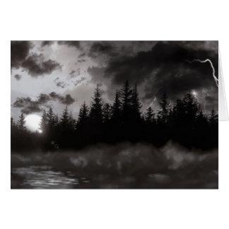 Carte Temps orageux