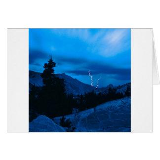 Carte Temps orageux Yosemite de ciel
