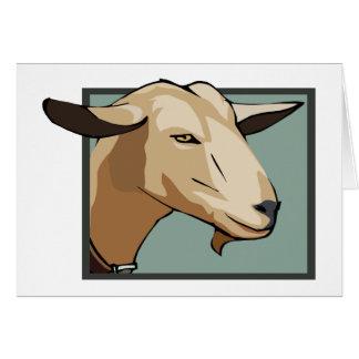 Carte Tête de chèvre
