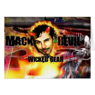 Carte Tête de diable de Mack
