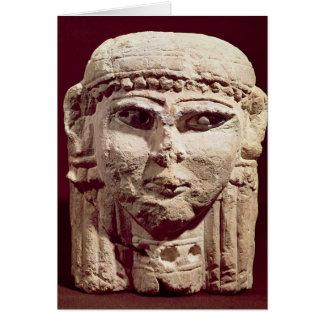 Carte Tête de la déesse Ishtar, d'Amman, la Jordanie