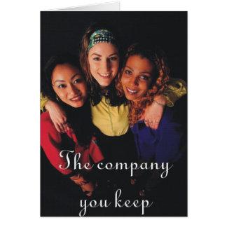 Carte Th Company que vous gardez