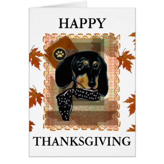CARTE THANKSGIVING DOXIE