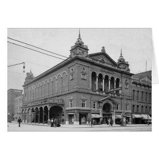 Carte Théâtre Indianapolis Indiana de 1902 parcs