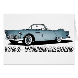 Carte Thunderbird 1956