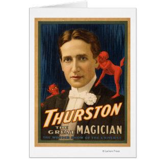 Carte Thurston, diable lui disant la magie 2 de secrets