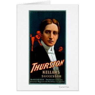 Carte Thurston, diable lui disant la magie de secrets