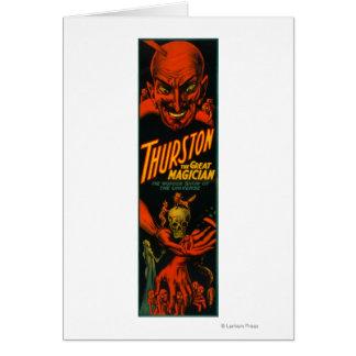 """Carte Thurston """"grande exposition de magicien de"""