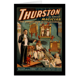 Carte Thurston le grand magicien